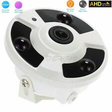 Full HD 1080P  2.0MP wired AHD camera IR dome 360 degree Panoramic fisheye lens