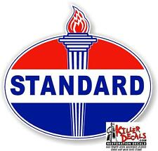"""12"""" EARLY style STANDARD TORCH GAS PUMP OIL TANK DECAL"""