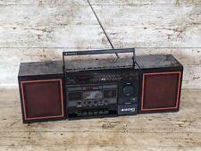More details for vintage 1980s boombox matsui mini component system sx-5240d radio cassette