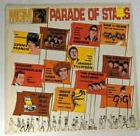 """""""Parade of Stars"""" MGM Records 12"""" LP Connie Francis Roy Orbison Hank Williams"""