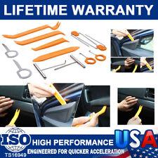 12X Car Radio Door Clip Panel Trim Dash Audio Plastic Removal Pry Tools Moulding