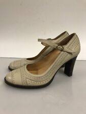 JEFREY CAMPBELL Size 38 Leather Pump Shoe Women's Maryjane