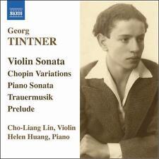 Georg Tintner: Violin Sonata; Piano Sonata; Chopin Variations, New Music