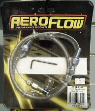 """Aeroflow Stainless Steel Throttle Cable - 24"""" Length"""
