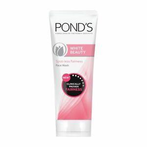 Ponds White Beauty Face Wash Lightning Facial Foam for soft skin free ship 200g