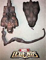 Marvel Legends Queen Brood BAF Build A Figure Head Torso Tentacle (3) Piece Lot
