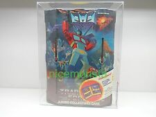 G1 TRANSFORMERS VINYL JUMBO COLLECTORS CASE SEALED AFA 80NM HASBRO 1984 TARA