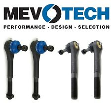 For Chevrolet K1500 K2500 Blazer Front Inner & Outer Tie Rod Ends KIT Mevotech