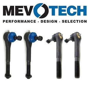 For Chevrolet K1500 K2500 Blazer Front Inner & Outer Tie Rod Ends KIT Mevotech