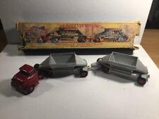 Vintage Matchbox Major Pack M-4 Fruehauf Hopper Train Within Its Original Box
