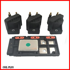 3x Commodore Ignition Coil VN VP VR VT VX VY VS WH V6 with Genuine Delphi Module