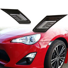 Smoke Lens LED Light Indicator Side Marker For Subaru BRZ Scion FR-S Toyota 86
