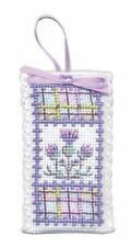 Tartan Thistles Sachet Cross Stitch Kit (Textile Heritage)