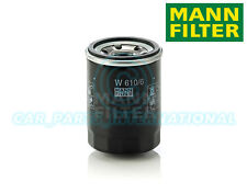 Mann Hummel OE Quality Replacement Engine Oil Filter W 610/6