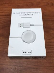 INSIGNIA 1ft Magnetic Charging Cable for Apple Watch (Apple MFI Certified) White