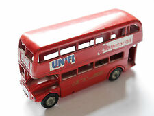Doppeldecker Bus Omnibus Coach A.E.C. Routemaster 64 Seater, A Budgie Toy 1:55?