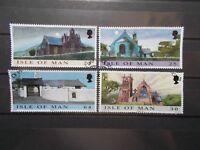 Isle of Man 1999 Commemorative Stamps~Churches Xmas~ Fine Used Set~UK Seller