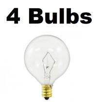 4 Pack Light Bulb for Large Scentsy Wax Diffusers/Tart Warmers, 25 Watt 130 Volt