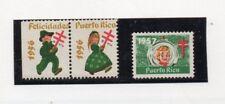 Puerto Rico Viñetas Navideñas año 1956-57 (DQ-742)