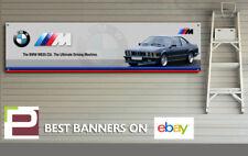 BMW M 635csi Workshop / Garage Banner with Eyelets, MSport, 6 series