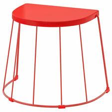 Ikea Tranarö Tabouret / Côté Table, En / Extérieur 56x41x43 CM Rouge