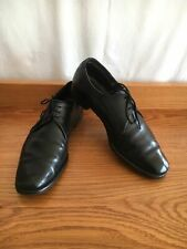 🍂 Mens Crockett & Jones Grenville Leather Dress Formal Black Shoes Size 10.5