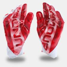 Under Armour HIGHLIGHT Receiver Football Gloves 1271169 102 Adult XL EXTRA LARGE