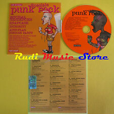 CD ROCK SOUND PUNK ROCK 18 compilation PROMO 2003 SNAPCASE SKIANTOS QUEERS (C8)