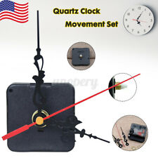 CLOCK MECHANISM QUARTZ MOVEMENT WITH HANGER & HANDS WONT BEND