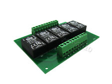 5x Meanwell Mean Well LDD-500H DC 2-52V 500mA LED Drivers on 5 Channel PCB Board