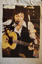 Wings Paul McCartney David Bowie POSTER France The Beatles
