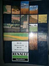 Renault R3151 R3152 80-32 80-34 tracteur : notice entretien 03/1989