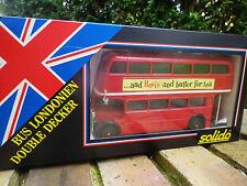 SOLIDO 1/50: BUS LONDONIEN DOUBLE DECKER SOUTHERN VECTIS neuf en boite d'origine