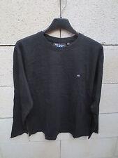 T-shirt SERGE BLANCO PETIT QUINZE 15 noir coton rugby 12 ans manches courtes