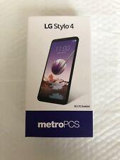 LG Stylo 4, 32GB - Black (MetroPCS)  UNLOCKED Smartphone