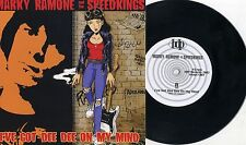"Marky Ramone And The Speed Kings - I've Got Dee Dee On My MInd 7"" SWEDEN PRESS"
