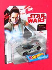 Hot Wheels Star Wars REY JEDI TRAINING Character Cars  FDJ71 The Last Jedi