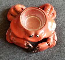 Red Yankee Candle Ceramic Crab Tea Light Holder 2011