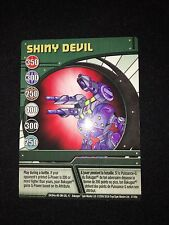 Bakugan SHINY DEVIL Ability Card 47/48e RARE POWERFUL CARD!