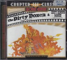 Cd The Dirty Dozen Soundtrack 2 on 1 w/ Dirty Dingus Magee Soundtrack