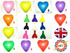 Large Heart Shape Balloons Mix Colour 20-100 Pcs For Birthdays Wedding Parties