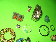 Junk Drawer Lot JEWELRY Mix - Match - Odds & Ends Random Jewelry