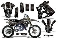 YAMAHA WR 250Z Graphic Kit AMR Racing # Plates Decal Sticker Part 91-93 RPB