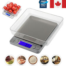LCD Digital Precision Electronic Balance Scale 0.01-500g Weighing Food Jewelry