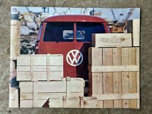 1963 Volkswagen Panel, Kombi & Pick-up Original Sales Brochure