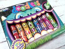 NEW Artskills Art Skills Sidewalk Chalk Outdoor Doodlers Monster Chalk Holders