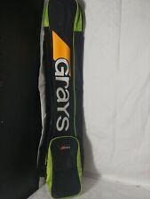 Grays Performance Field Hockey  Stick Bag Black Orange Green Excellent condition