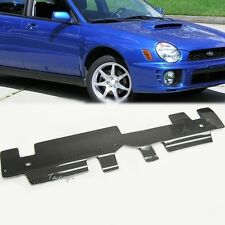 Fit 02-06 Impreza STI WRX Front Hood Cooling Plate Radiator Cover Carbon Fiber