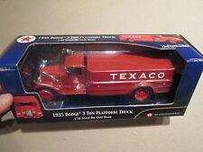Ertl Texaco 1935 Dodge 3 Ton Platform Truck 1/38 SCALE New - never displayed