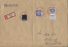 AP 522 I + 783 I + SBZ 49A MiF auf großem R-Brief Meissen nach Chemnitz (B06750)